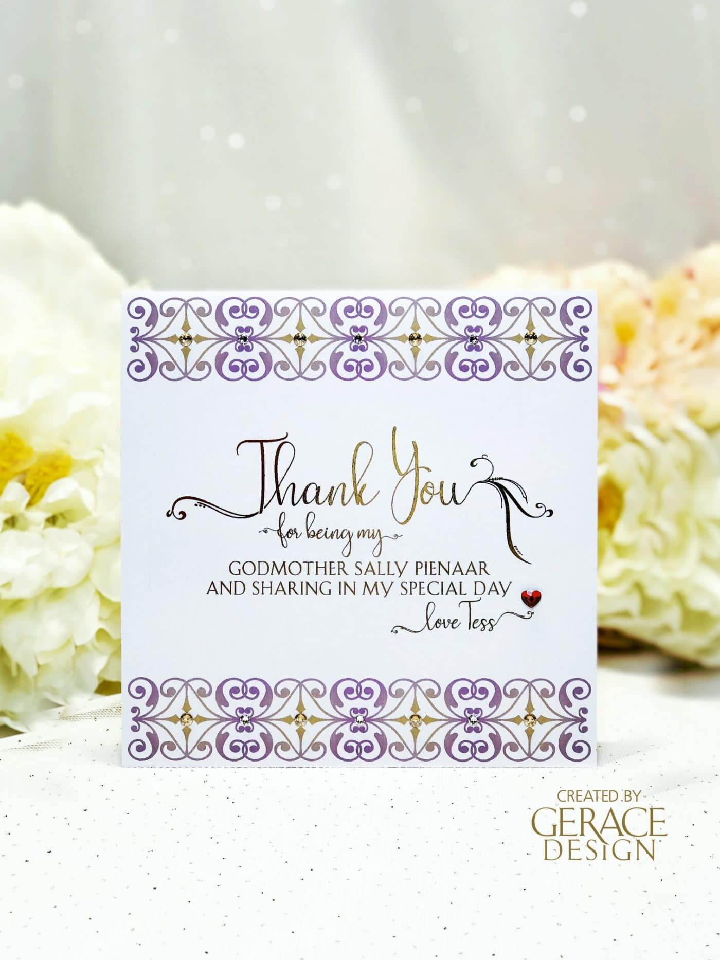 keepsake card