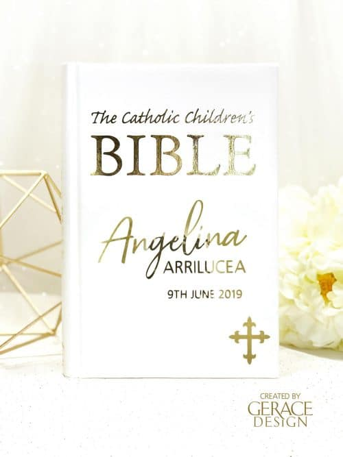 Personalised Bible Gold
