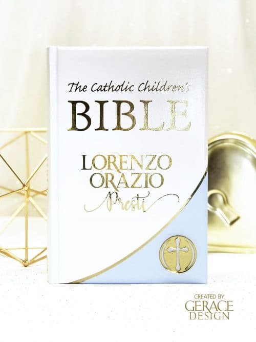 Personalised Bible Blue